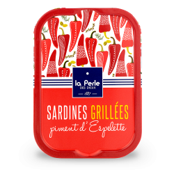 Sardines grillées au piment...