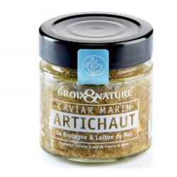 Caviar marin à l'artichaut...