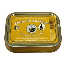 Filets de sardines au cidre...