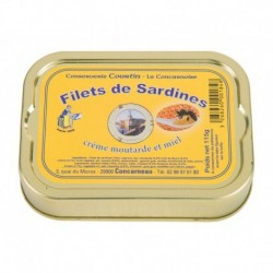 Filets de sardines moutarde...