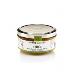 Thon Germon huile d'olive...
