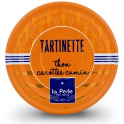 Tartinette thon carottes...