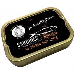 Sardines au safran bio...