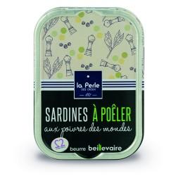 Sardines à poêler aux...