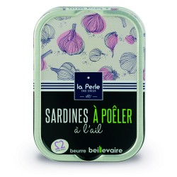 Sardines à poêler à l'ail...