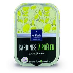 Sardines à poêler au citron...