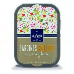 Sardines grillées aux 5...