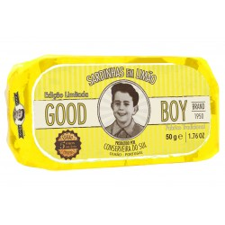 Sardines Good boy citron 50g