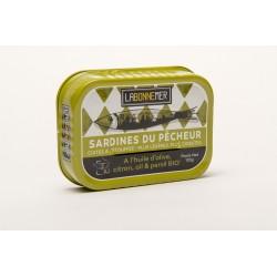 Sardines citron ail persil...