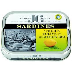 Sardines aux citrons à...