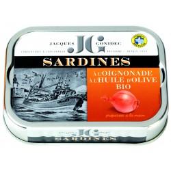 Sardines oignonade à...