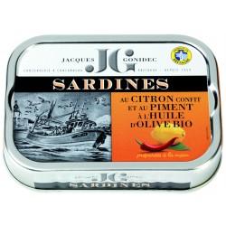 Sardines au citron confit ,...