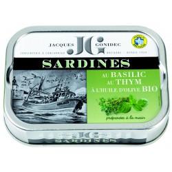 Sardines au basilic et au...