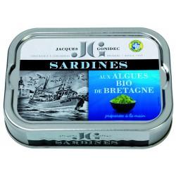 Sardines aux algues de...