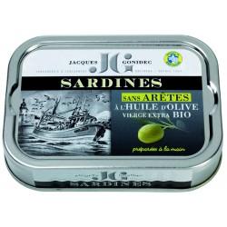 Sardines sans arêtes à...