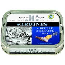 Sardines au beurre de...