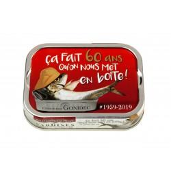 Sardines de collection 60...