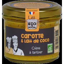 Crème à tartiner carotte &...